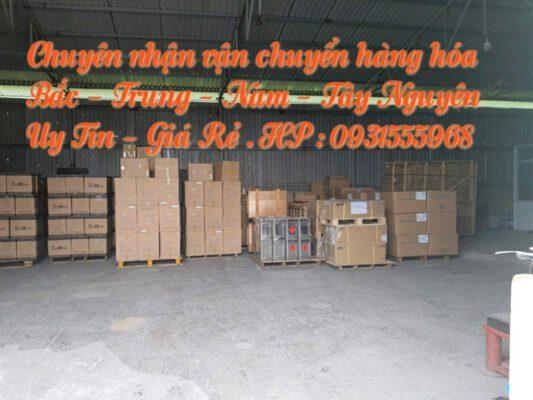 Vận chuyển hàng hóa đi Hà Tĩnh