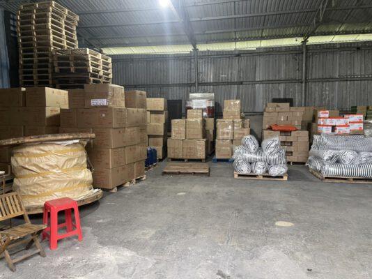 Gửi hàng ghép từ HCM đi Hà Nội