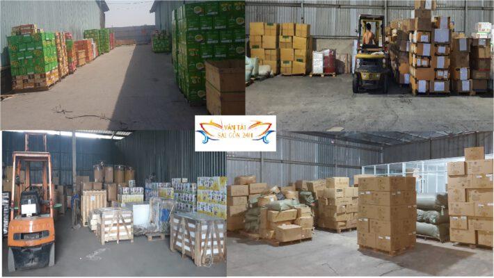 Vận chuyển hàng từ HCM đi Bình Định