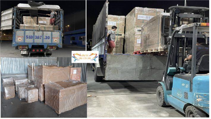 Vận chuyển hàng đi KCN Đông Anh Hà Nội